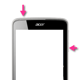 Screenshot Buttons for Acer Liquid Z4