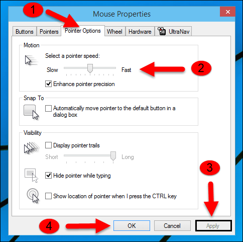 Windows 10: How to Change the Mouse Speed - SolverBase com