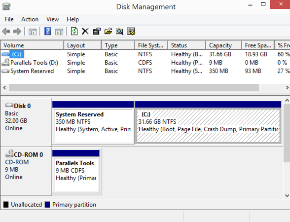 how to go to disk management