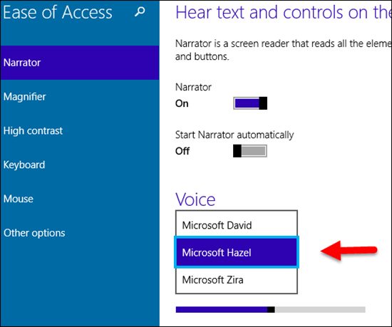 Windows 10: How to Change Voice of Screen Reader