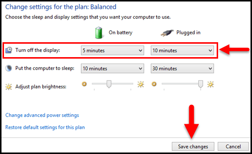 A Solution In Search Of Problem >> Windows 10: Change Screen Timeout - SolverBase.com