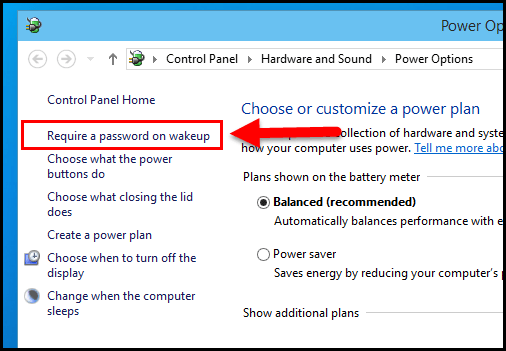 how to disable password change in windows 10