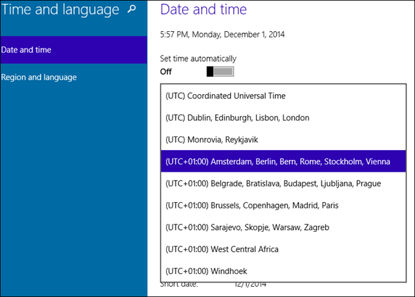Windows 10 How To Change Time Zone Solverbase Com