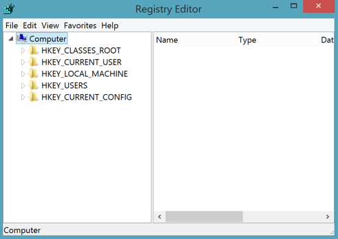 how to clean registry editor