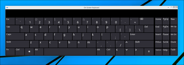 Windows 10: How to Enable Screen Keyboard - SolverBase com